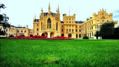 Csehországi kastélymustra: Lednice és Valtice