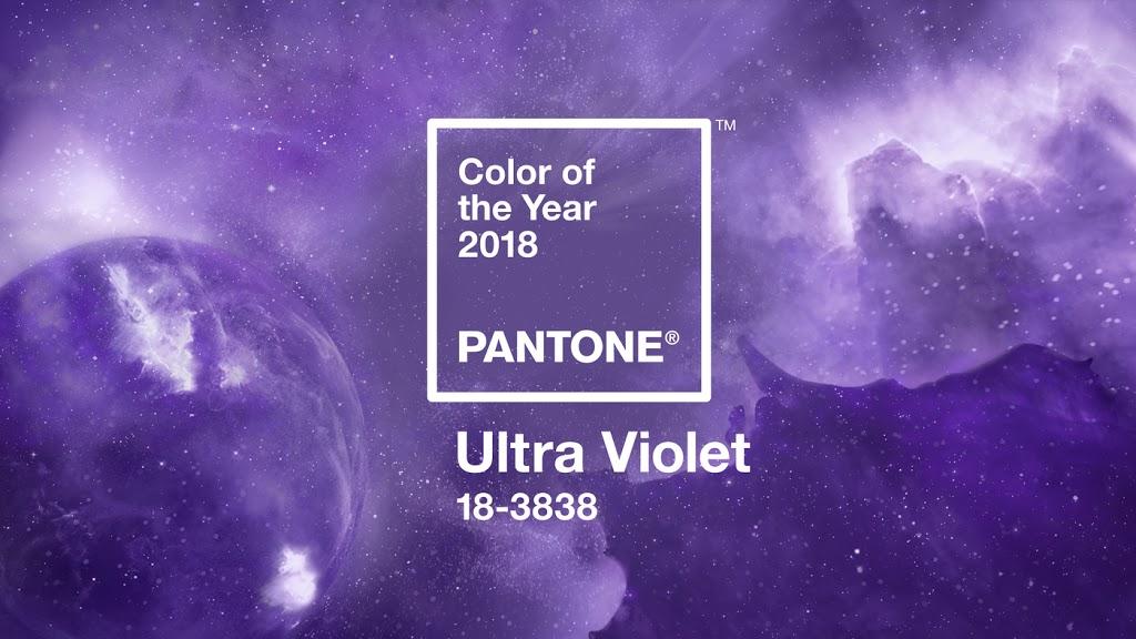Ultra Violet színű szépelgés
