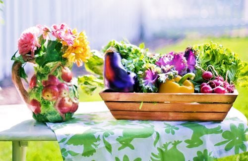 Idénynövényeket az asztalra Júniusban is!